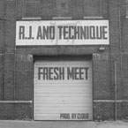 R.J. & Technique - Fresh Meet Artwork