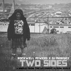 Rockwell Powers & DJ Phinisey - TWO SIDES Artwork