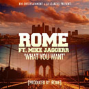 Rome ft. Mike Jaggerr - What You Want Artwork