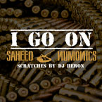 Saheed ft. DJ Heron - I Go On Artwork