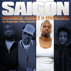 Saigon ft. Memphis Bleek, Lil Bibby & Kool G Rap - Mechanical Animals Artwork