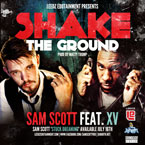 Sam Scott ft. XV - Shake The Ground Artwork