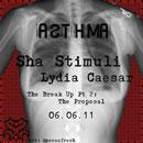 Sha Stimuli ft. Lydia Caesar - Asthma Artwork