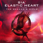 Sia ft. The Weeknd & Diplo - Elastic Heart Artwork