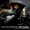 Slim The Mobster ft. Dr. Dre &amp; Sly - Back Against The Wall Artwork