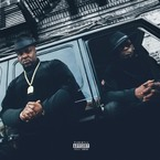 Smoke DZA & Pete Rock - Black Superhero Car ft. Rick Ross Artwork