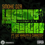Smoke DZA ft. Wiz Khalifa & Curren$y - Legends in the Making (Ashtray Pt. 2) Artwork