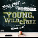 Wiz Khalifa & Snoop Dogg ft. Bruno Mars - Young, Wild & Free Artwork