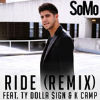 SoMo ft. Ty Dolla $ign & K. Camp - Ride (Remix) Artwork