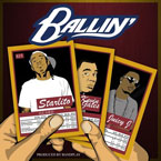 Starlito ft. Kevin Gates & Juicy J - Ballin Artwork