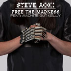 Steve Aoki x Machine Gun Kelly - Free the Madness Artwork