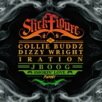 Stick Figure - Smokin' Love (Remix) ft. Collie Buddz, J BOOG, Iration & Dizzy Wright Artwork