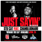 Stu Cat ft. Chamillionaire - Just Sayin' Artwork