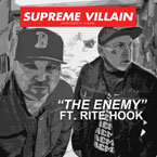 Supreme Villain (Slaine & Madchild) ft. Rite Hook - The Enemy Artwork