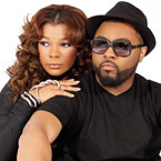Syleena Johnson x Musiq Soulchild - Feel the Fire Artwork
