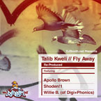 Talib Kweli - Fly Away (Re-Produced by Willie B) Artwork