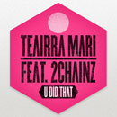 Teairra Mari ft. 2 Chainz - U Did That (Remix) Artwork