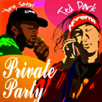 Ted Park - Private Party ft. Yung Satori Artwork