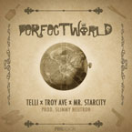 Telli ft. Troy Ave, Mr. Starcity &amp; Ferrari Snowday - Perfect World Artwork