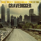 Thurz ft. Willie B &amp; Glasses Malone - Gravedigger Artwork