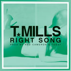 T. Mills - Right Song Artwork
