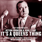 Tony Touch ft. Action Bronson & Kool G Rap - It's a Queens Thing Artwork