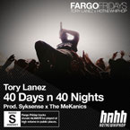 Tory Lanez - 40 Days n 40 Nights Artwork