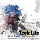 Trek Life - What It Is (Apollo Brown Remix) Artwork