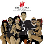 Trey Songz  ft. Young Jeezy & Lil' Wayne - Hail Mary Artwork