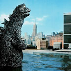 Taylor Thrash - Godzilla Artwork