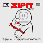 Turk ft. Lil' Wayne & Juvenile - Zip It (Remix) Artwork
