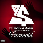 Ty Dolla Sign ft. B.o.B - Paranoid Artwork