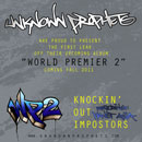 Unknown Prophets ft. Planet Asia - Knockin&#8217; Out Impostors Artwork