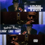 V Don - Livin' Like That ft. Bodega Bamz Artwork