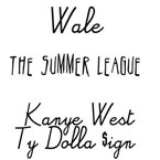 Wale - The Summer League ft. Kanye West & Ty Dolla $ign Artwork