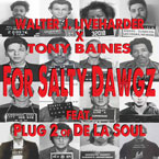 Walter J. Liveharder ft. Plug 2 (of De La Soul) - For Salty Dawgz Artwork