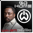 will.i.am ft. Mick Jagger &amp; Wolfgang Gartner - Go Home Artwork