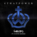 will.i.am ft. Justin Bieber - #thatPOWER Artwork