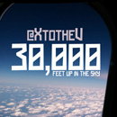 XV - 30,000 (Feet Up In The Sky) Artwork