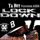 Ya Boy ft. Akon - Lock Down Artwork