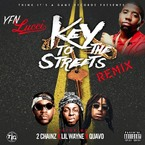 YFN Lucci - Key To The Streets (Remix) ft. 2 Chainz, Lil Wayne & Quavo Artwork