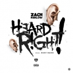 Zach Farlow - Heard Right Artwork
