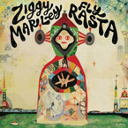 Ziggy Marley ft. U-Roy - FLY RASTA Artwork