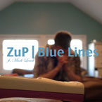 ZuP ft. Mark Leach - Blue Lines Artwork