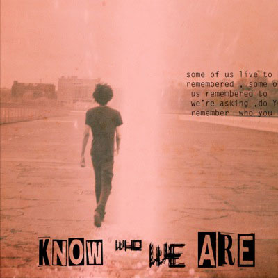 Know Who We Are Cover