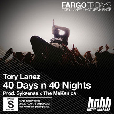 40 Days n 40 Nights Cover