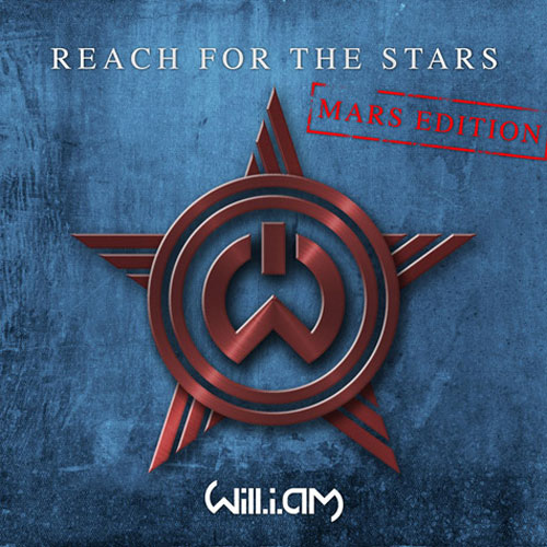 Reach for the Stars (Mars Edition) Cover