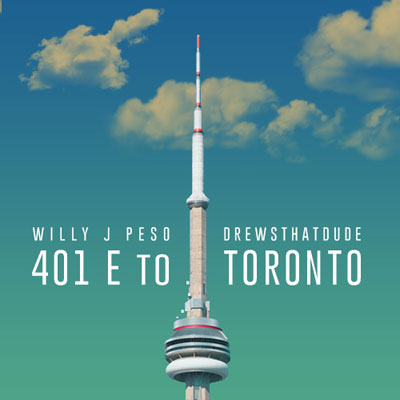 Willy J Peso - 401 E to Toronto Artwork